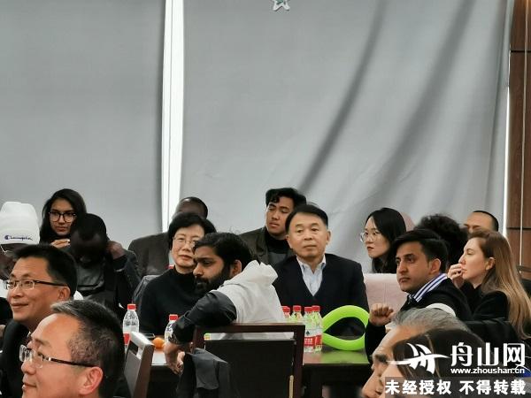 浙江舟山举行在舟外籍人士联谊活动